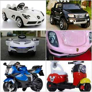 Scooters/ Toy Cars For Kids..