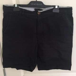 I Love Ugly Black Shorts