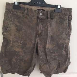 RVCA Cargo Shorts