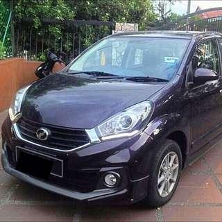 Myvi 1.3X Car Rent / Car Rental / Kereta Sewa