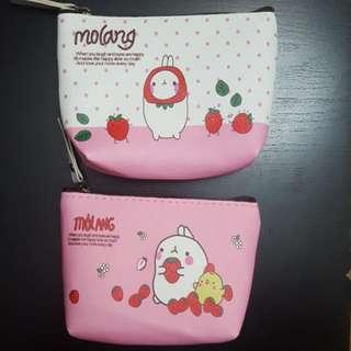 🐰 Molang Coin/Ticket Bag Wallet