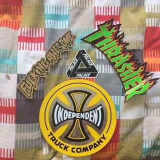 Thrasher/Palace Etc sticker Pack.