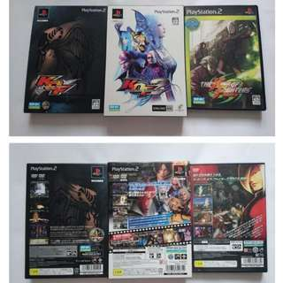 PS2 Game ~ The King of Fighters 3集