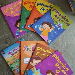 Brand New Phonics Books (Activity & Reader) + CD
