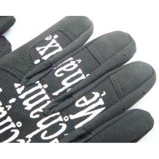 31563 - Mechanix glove BLUE & BLACK
