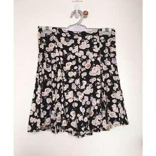 Minkpink Floral Skater Skirt