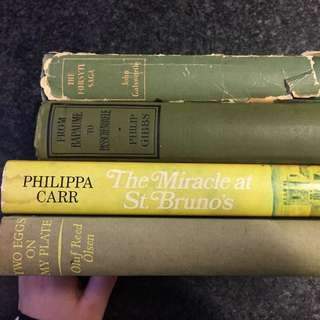 Four Old Green Books