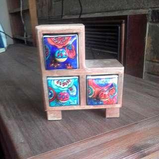 Boho Jewellery Box/drawers Ishka