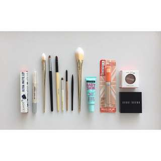 Assorted Beauty Items