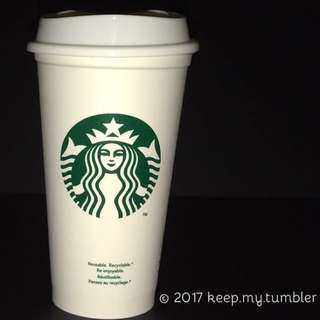 Starbucks Reusable Tumbler Grande 16oz.