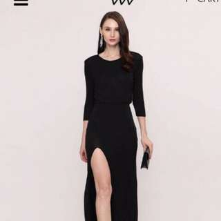 Black Elegan dress