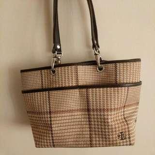 Authentic Ralph Lauren Canvas Classic Bag