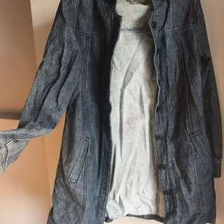 Long Denim Jacket 10