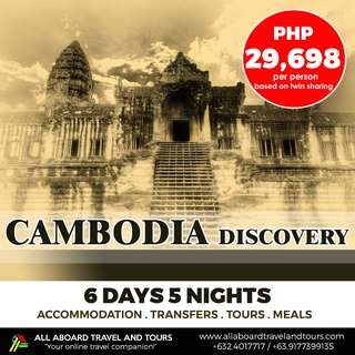 Cambodia 6D5N Discovery Tour