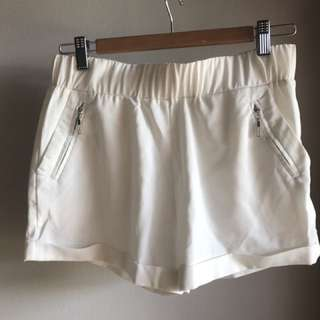 White Dress Shorts 6-8