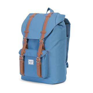 (BRAND NEW) Herschel Supply Co. Little America Mid-Volume Backpack Captain's Blue/Tan