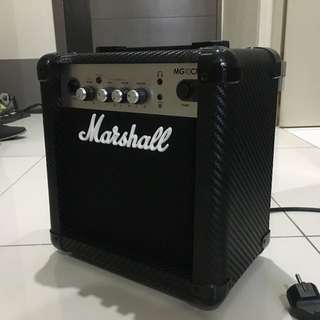 "Marshall MG10CF 10-watt 1x6.5"" Combo Guitar Amp"