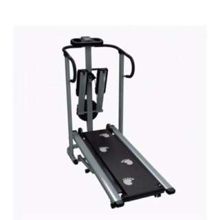 Muscle Power 203H-3 in 1 Magnetic Manual Treadmill
