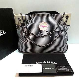 30960db55f0061 Authentic Chanel Ltd Edition Cruise Large Shopping Tote Bag {{ Only For  Sale }}