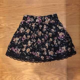 stradi floral skirt