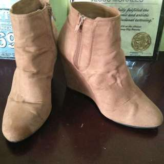 Forever21 Mid Cut Boots