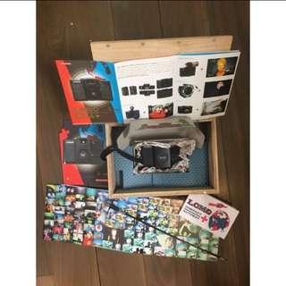 LOMO LC-a+ 小人頭版 底片相機 限量木盒版外加潛水盒 Lomo