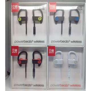 Beats Powerbeats 3 ( Brand New Apple 1 year warranty 全新 原刲 行貨 )
