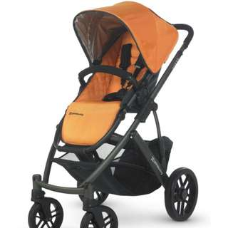 Uppbaby VISTA Single Twin Double Stroller with ALL ACCESSORIES