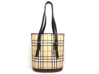 Burberry bucket Tote bag  USD 175 (SHIP FROM JAPAN)