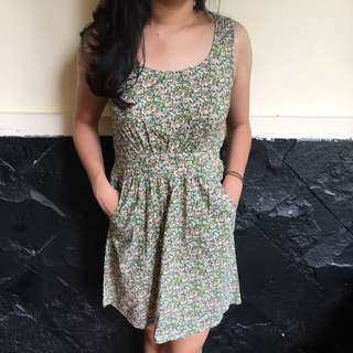 Flower Dress Ninetydegrees