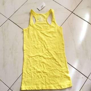 PLANET GOLA yellow tank top