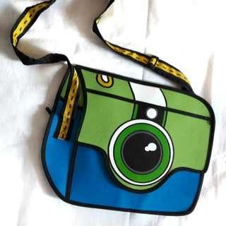 [REPRICED] 3D Camera Sling Bag