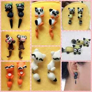 Animal Earings