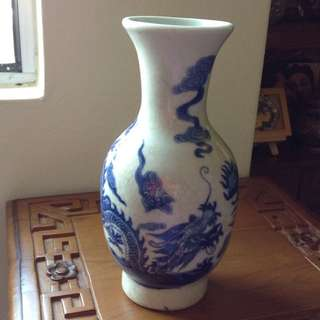 Old Dragon Vase
