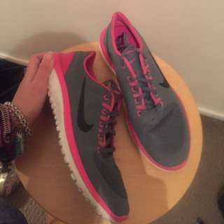 Pink And Grey Nike