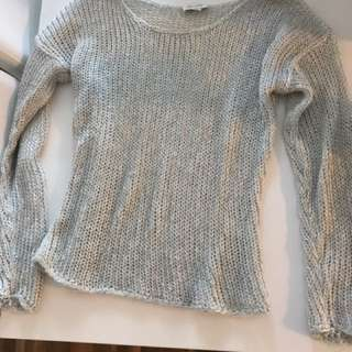 Witchery Silver Knit Jumper