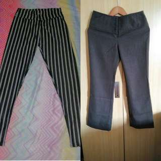 Buy1 Take1 High Waist Sq Pants & Stripes