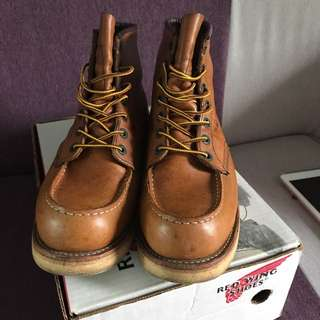 Red Wing 875 淺啡