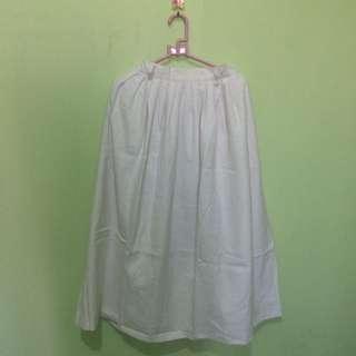 Broken White Maxi Skirt