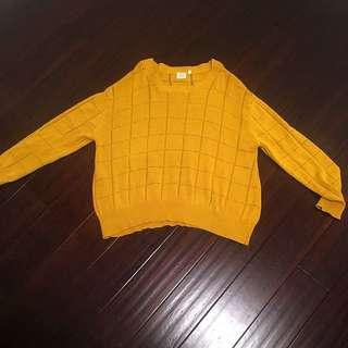 Mustard Some Days Lovin Pull Over Jumper/knit
