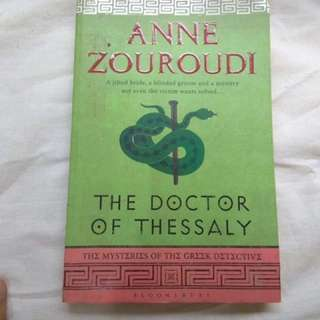 The Doctor of Thessaly by Anne Zouroudi