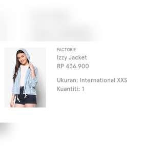 jacket (xxs)
