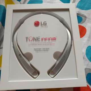 LG Tone Infinim Bluetooth Headset