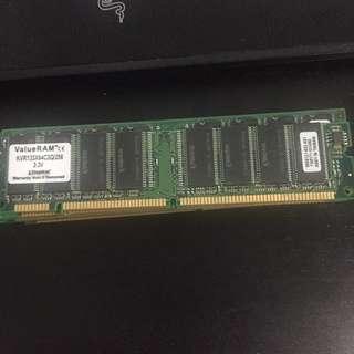 KVR133X64C3Q/256 256MB 133 RAM