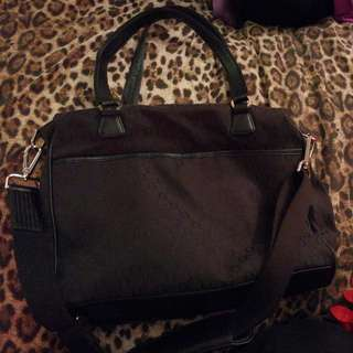 Oroton Black Baby Bag