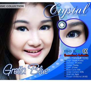 Gretta series Crystal contact lenses SALE