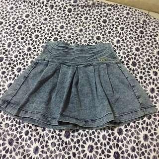 Nicki Minaj Denim Skirt
