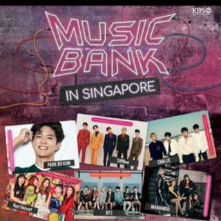 1x CAT1 PenB Music Bank In Sg Ticket