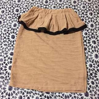 Peplum Skirt Free Size