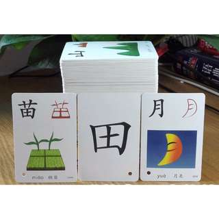 Brand New Early Learner Reading Learning Chinese Flash Cards
